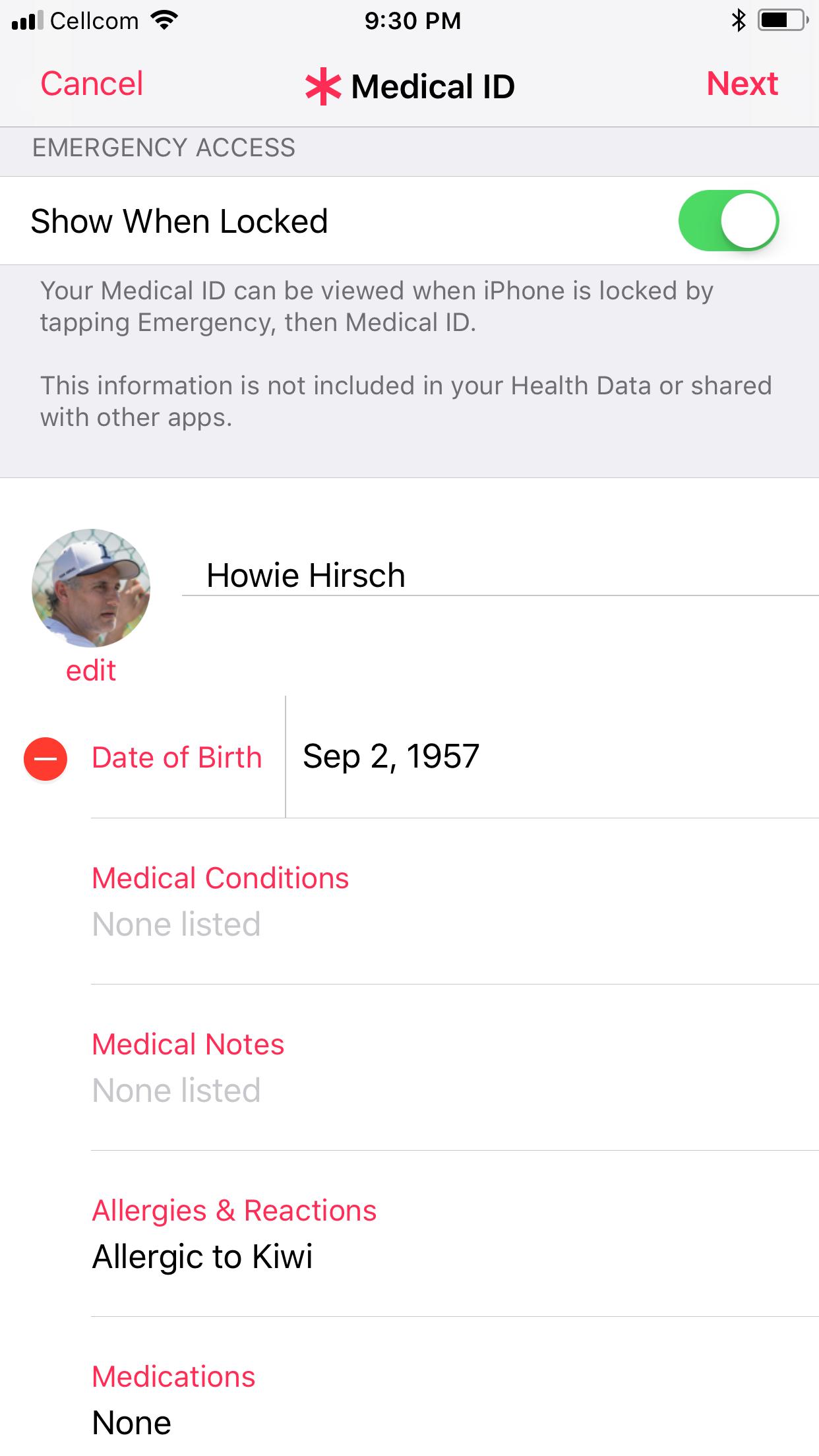 Medical ID