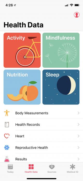 HealthApp-HealthData
