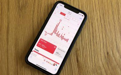 Heart Measurements in the Health App