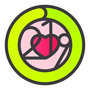 Apple Watch heart month badge